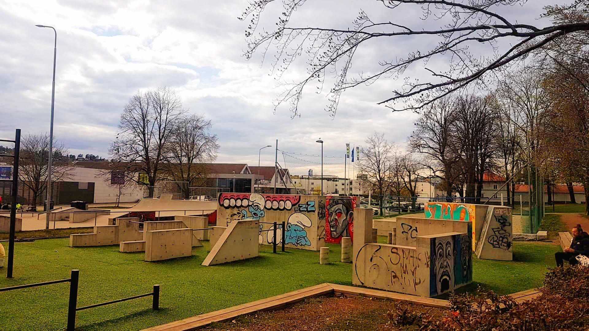 Skateparken - Gunnarsbø