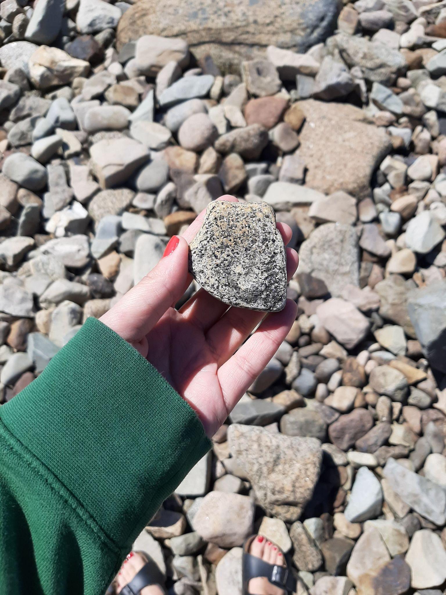 Steinplukking i Moutmarka