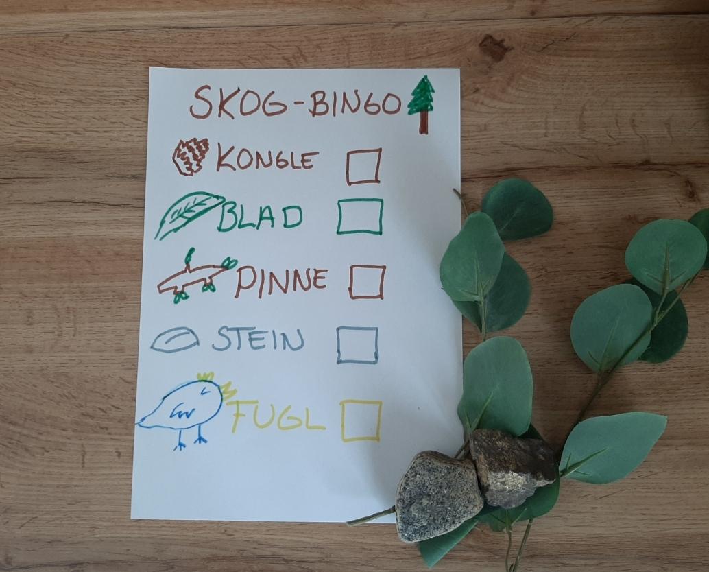 Bingo i skogen!