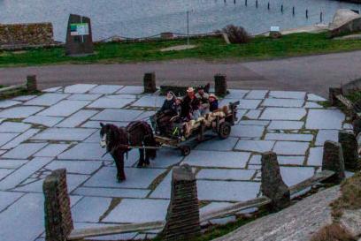 Hest og Vogn i Færder Nasjonalpark: Stall verdens ende