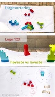 Lego 123 Ideer @morsom.til.barn
